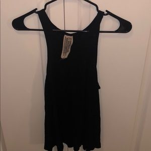 Black Free People Tank